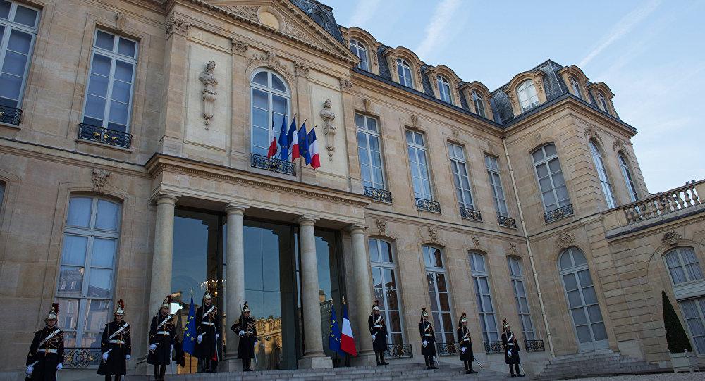 Il palazzo di Eliseo, Parigi