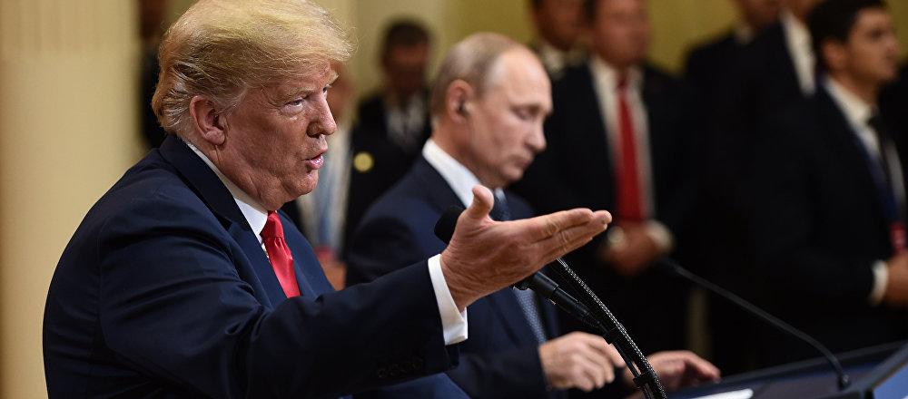 L'incontro tra Donald Trump e Vladimir Putin