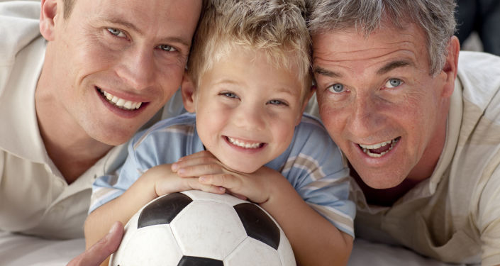 Papà, figlio e nonno