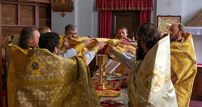 L'inaugurazione della nuova Iconostasi