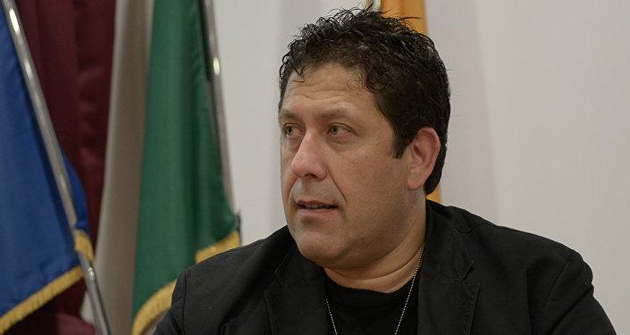 Luca Leonardo D'Agostini, presidente dell'associazione Madre Russia