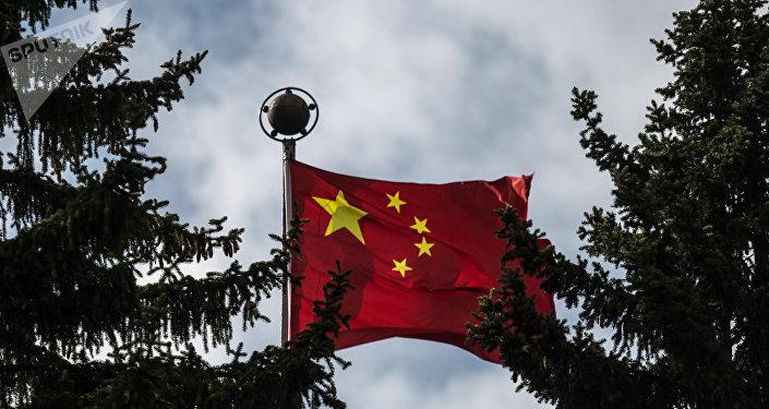 La bandiera della Cina