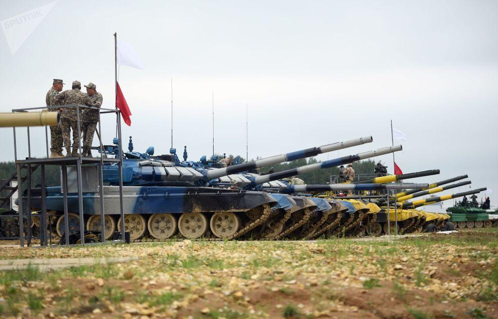 Tutto pronto per il Biathlon dei carri armati