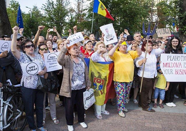 Proteste dell'opposizione a Chişinău