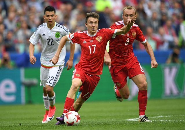 Alexandr Golovin ai Mondiali