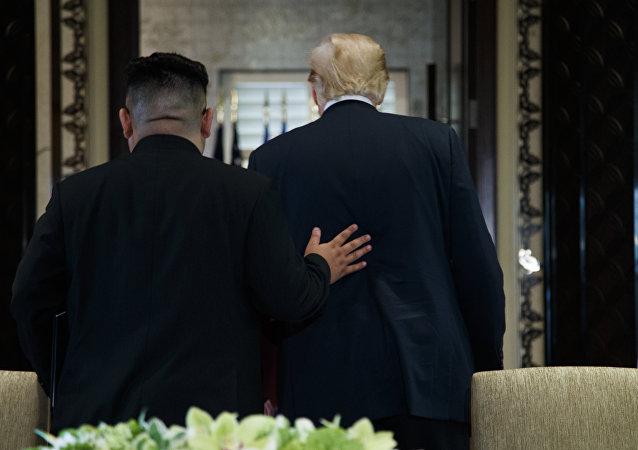 Donald Trump e Kim Jong Un