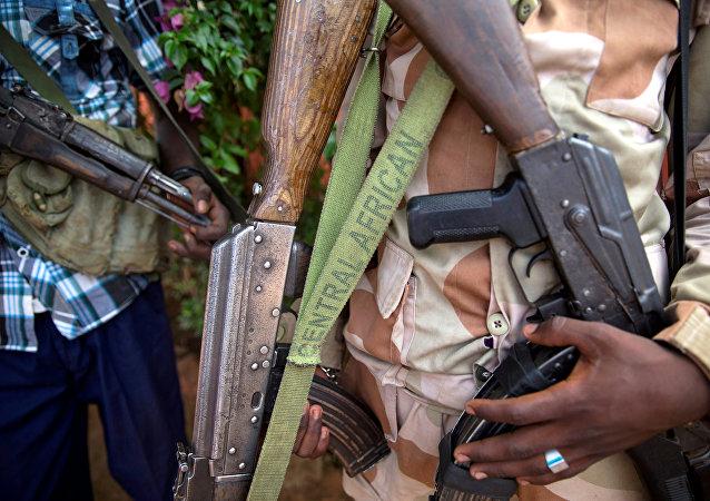 Uomini armati in Repubblica Centrafricana
