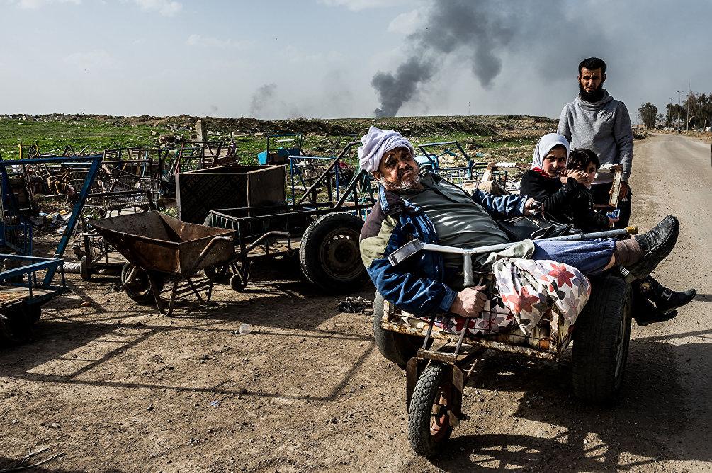 Una delle foto del reportage di Alessandro Rota Mosul operation, Iraq