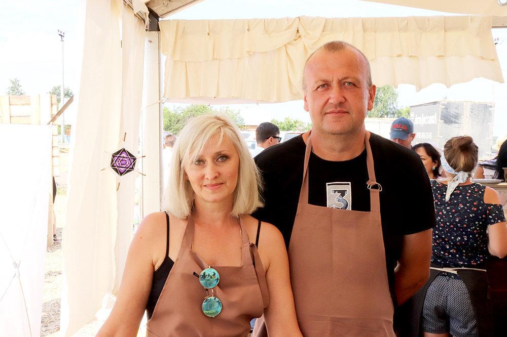 Larissa e Yuri Fominy, Po-Rizhsky fermer