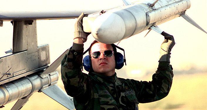 Missile aria-aria AIM-120 AMRAAM