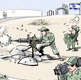 Donne soldati in Israele