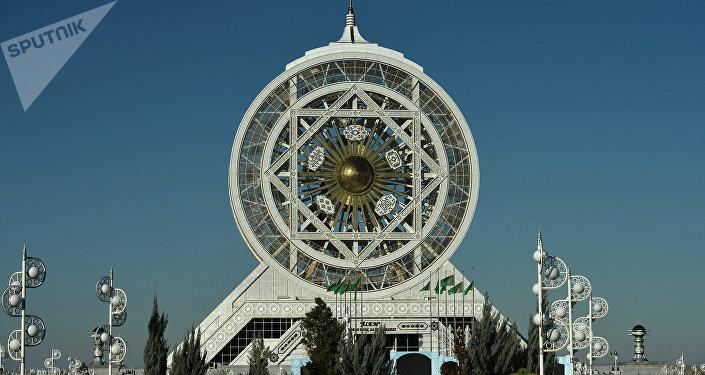 Aşgabat, la capitale Turkmenistan