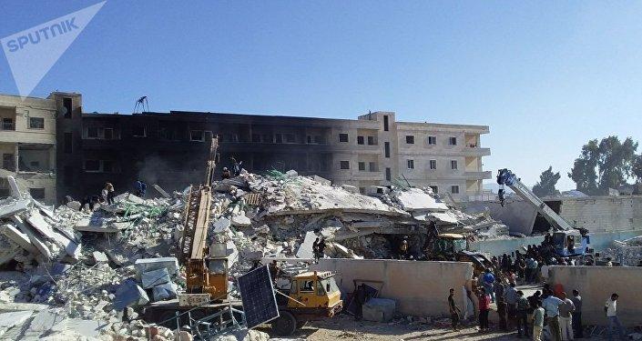 Dopo l'esplosione al deposito armamenti del gruppo terroristico Hayat Tahrir al-Sham a Idlib