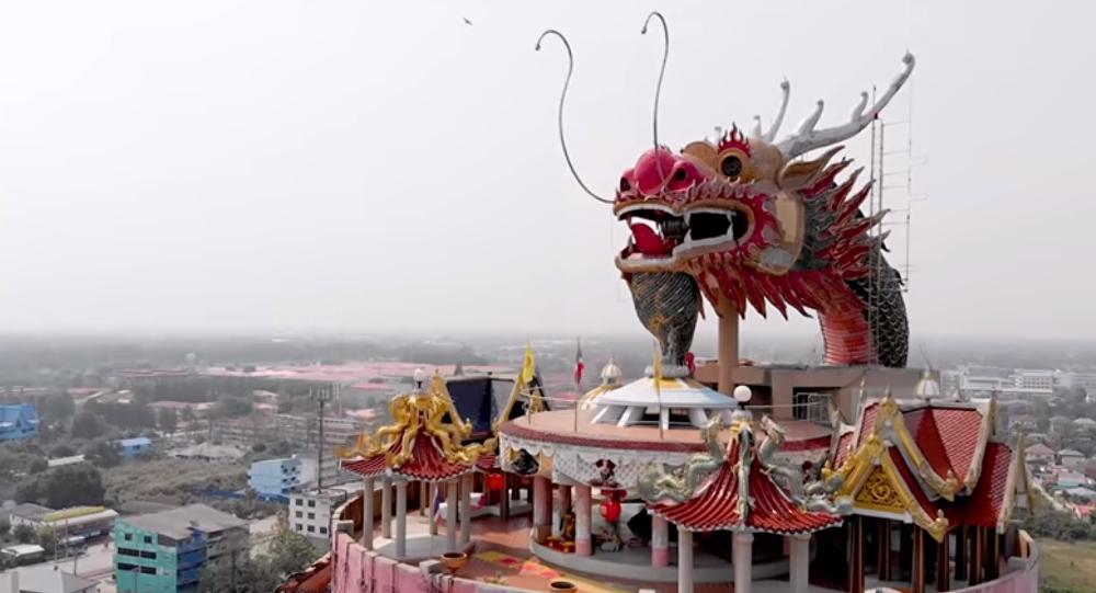 Il tempio del Drago Gigante