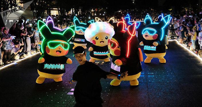 Festival dei Pikachu in Giappone
