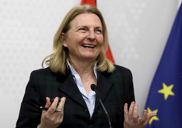 Außenministerin Karin Kneissl (Archiv)