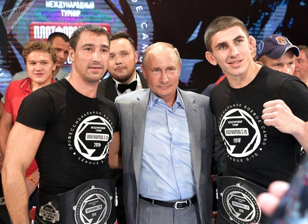 Putin sul ring