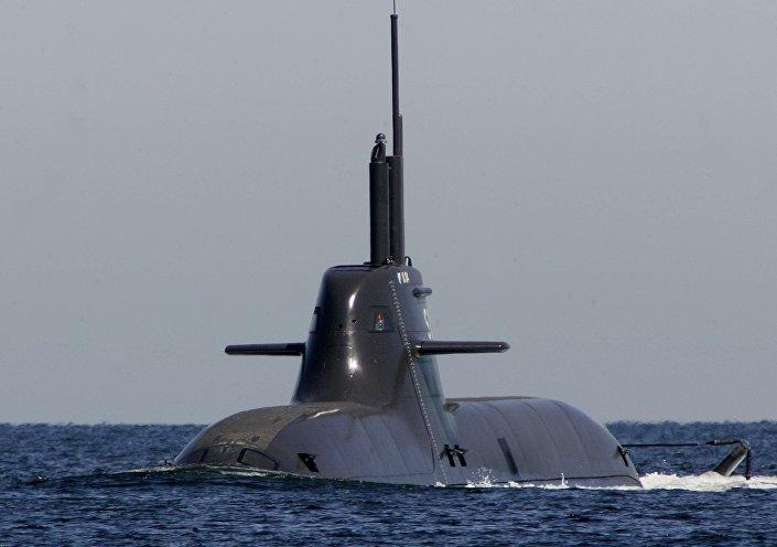 Il sottomarino tedesco U-34 della classe 212A