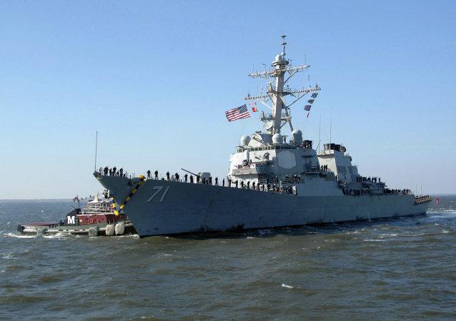 Cacciatorpediniere americano USS Ross