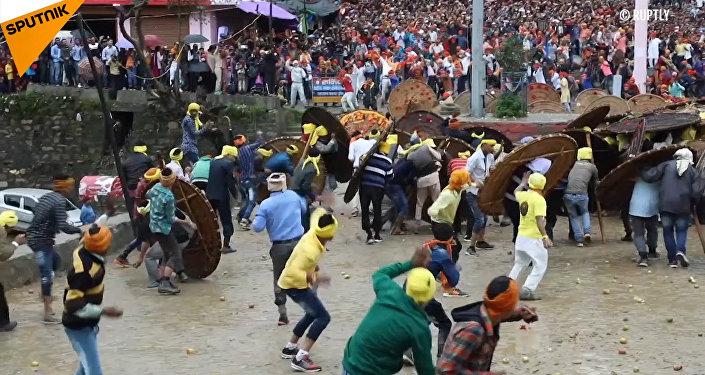 Il festival delle pietre in India