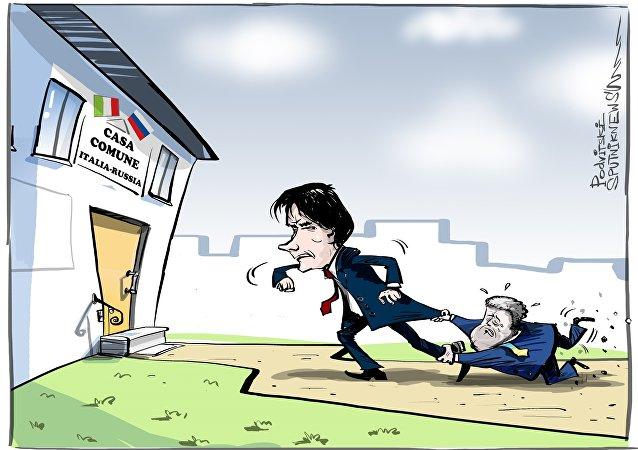 Poroshenko vuole impedire all'Italia di revocare le sanzioni contro la Russia