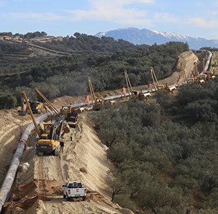 Costruzione del Gasdotto Trans-Adriatico