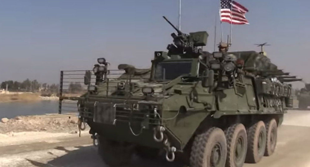 US Convoy in Syria