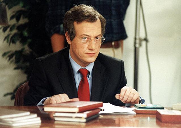 Corrado Guzzanti nella imitazione di Walter Veltroni