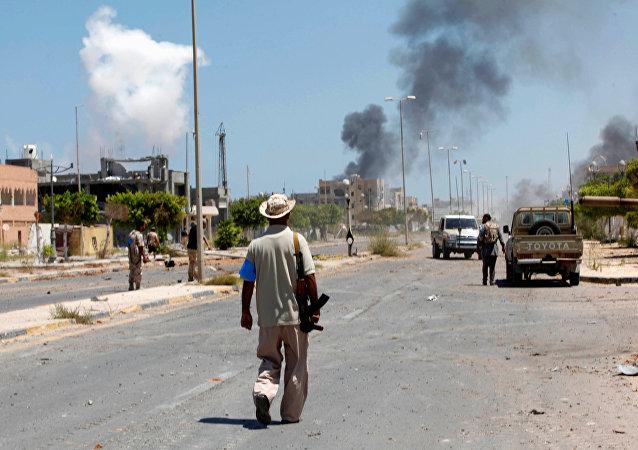 Combattimenti in Libia