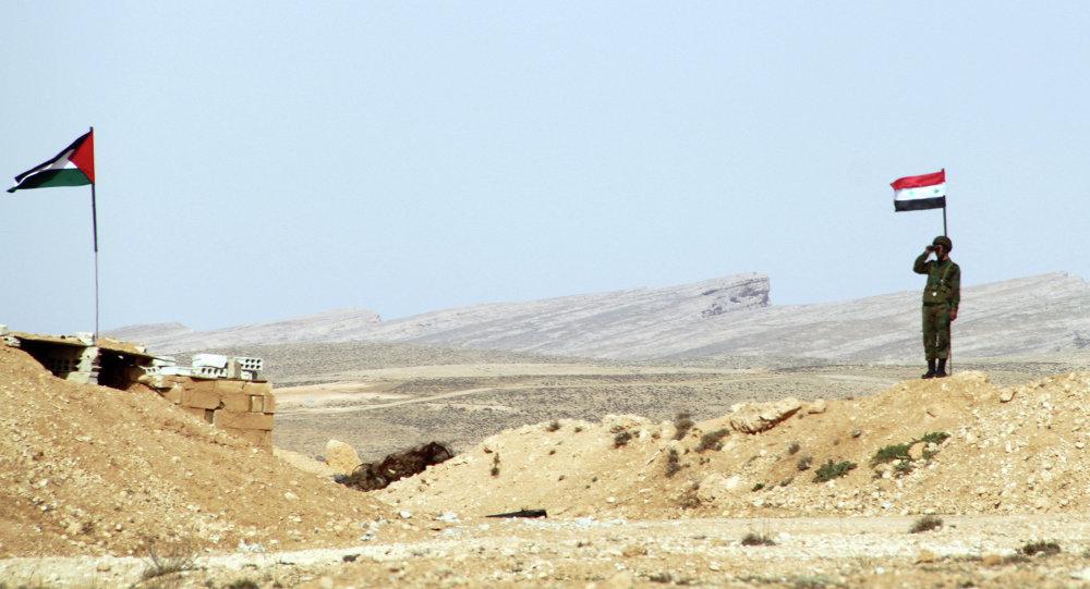 Checkpoint al confine siriano-libanese