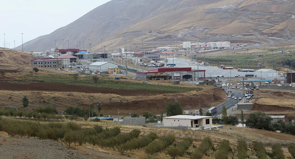 Confine tra Iran e Kurdistan iracheno