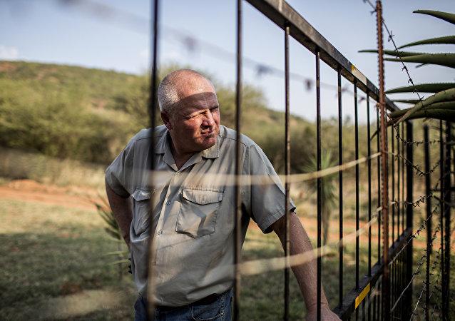 Agricoltore sudafricano