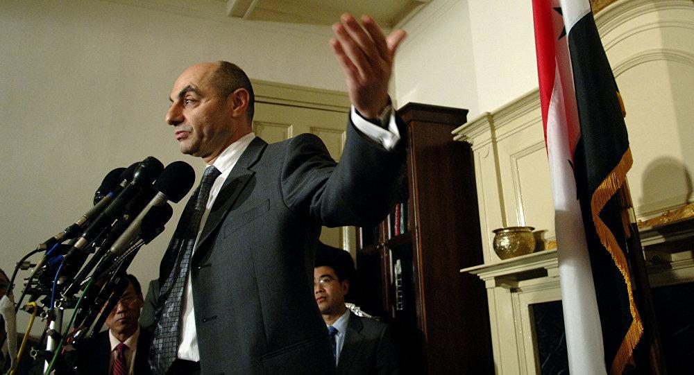 Il diplomatico siriano di stanza in Cina Imad Moustapha