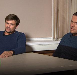Margarita Simonyan intervista i due sospettati russi in Regno Unito