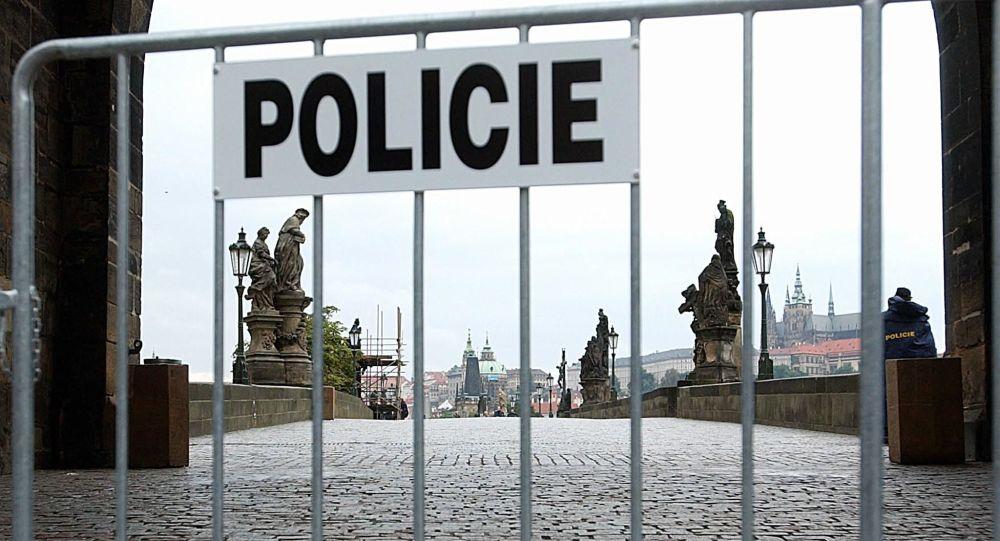 Polizia a Praga