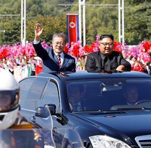 Leader delle due Coree a Pyongyang