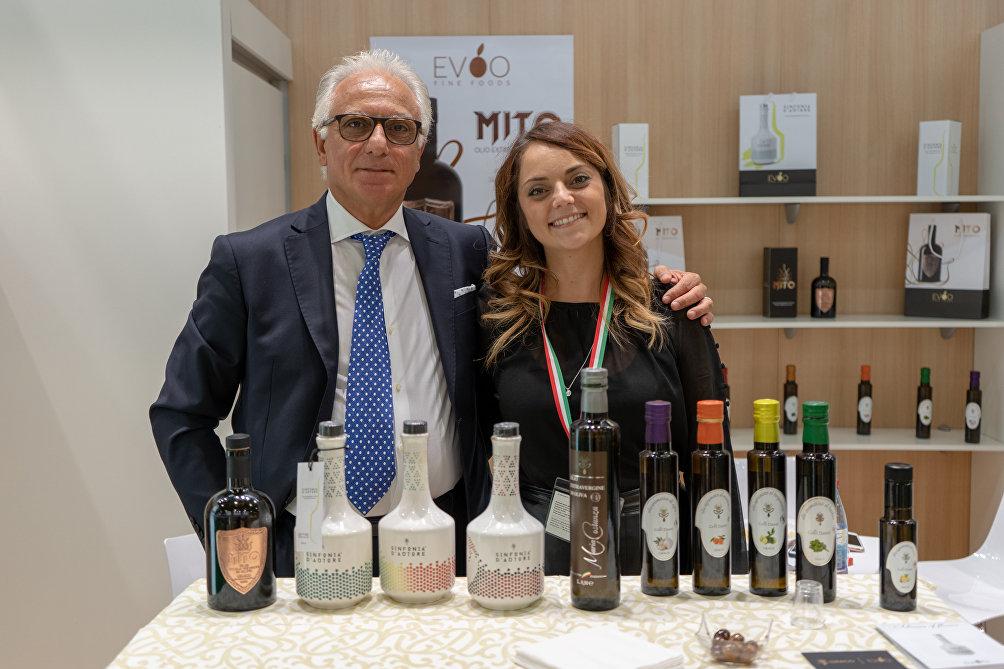 Sabino ed Ylenia Angeloro di Graco Food