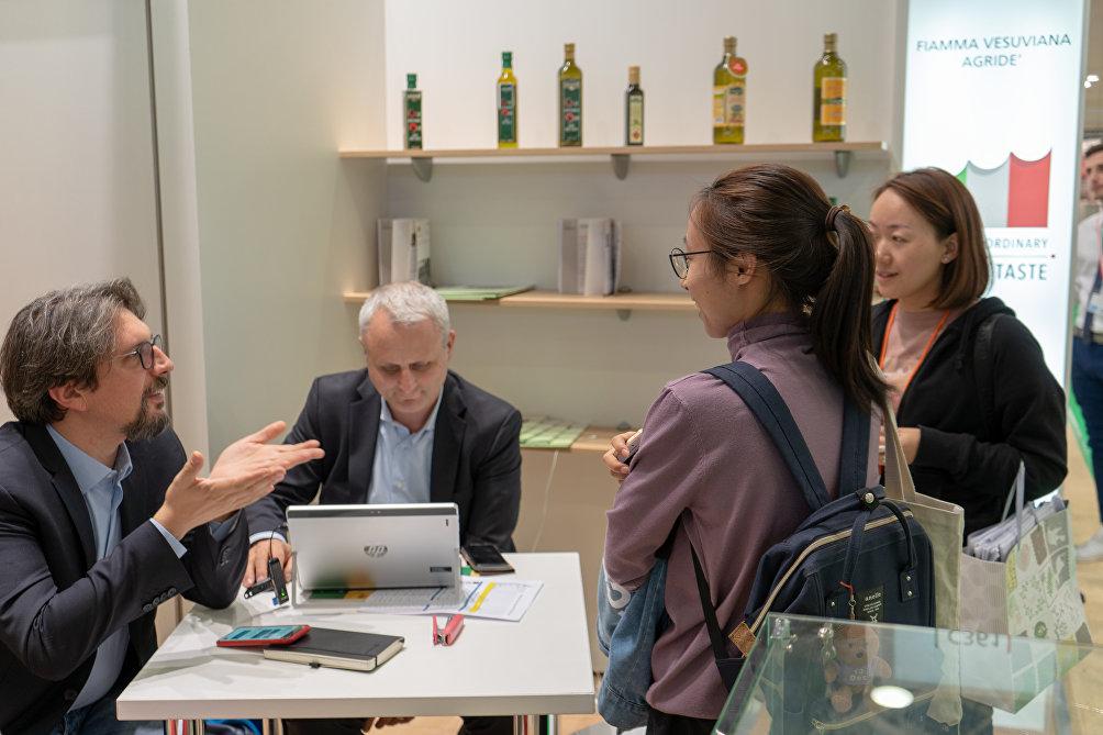 Adriano Grassini, export Manager di Fiamma Vesuviana a World Food