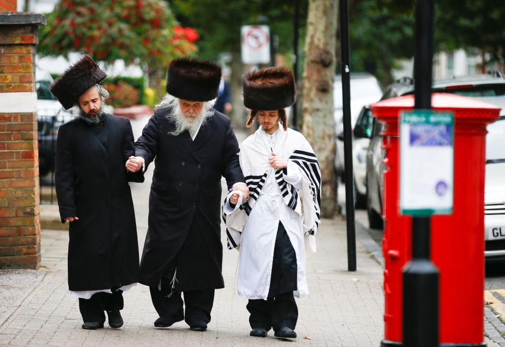 Gli ebrei a Londra.