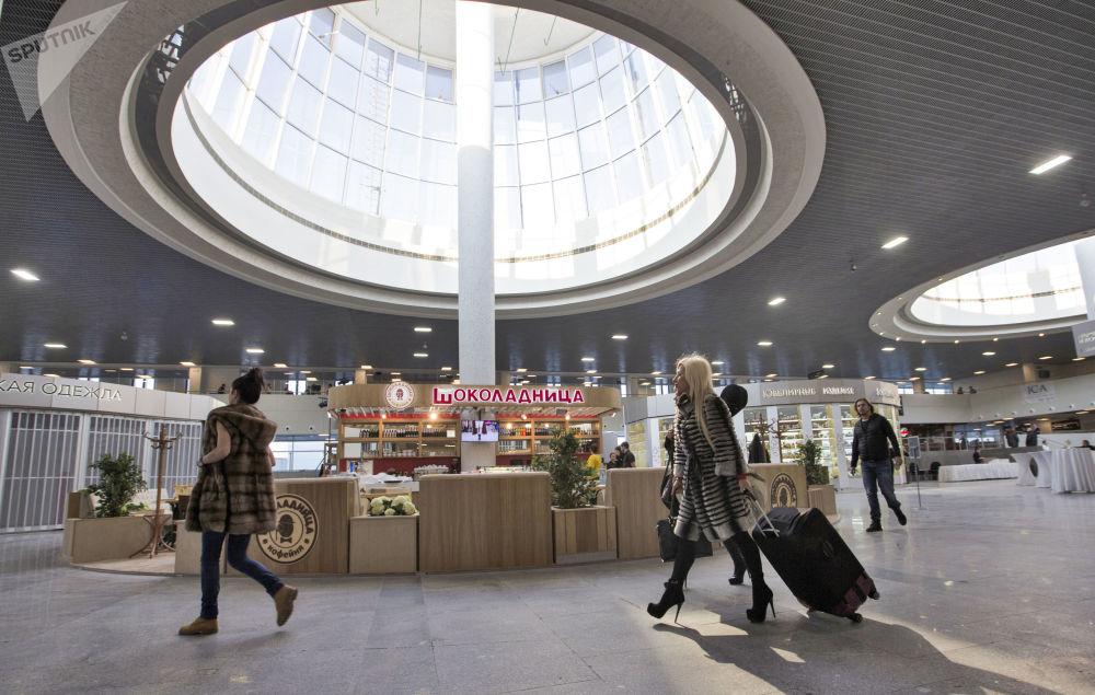 Nuovo terminal del 'Pulkovo 1' di San Pietroburgo