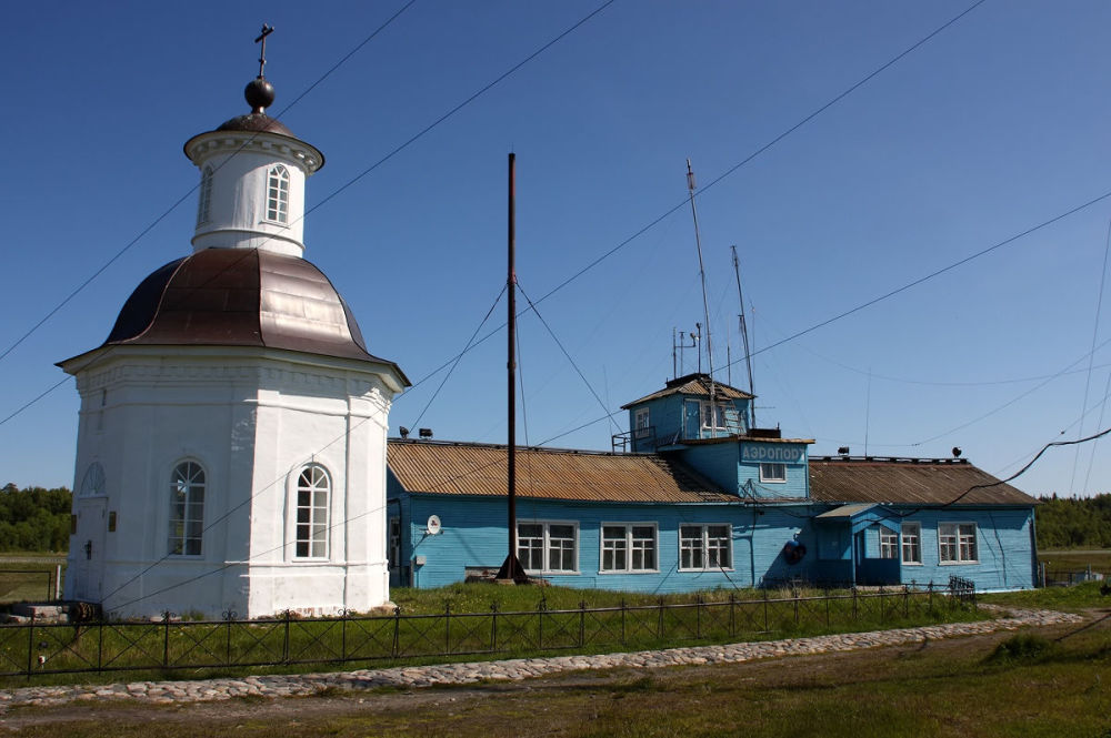 Aeroporto delle isole Solovetsky - Mar Bianco, regione di Arkangelsk