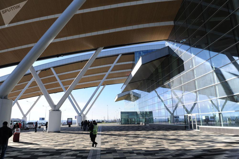 Nuovo complesso aeroportuale 'Platov' di Rostov sul Don