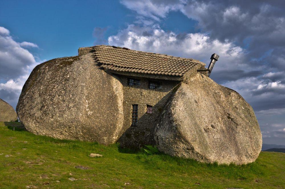 La casa-pietra in Portogallo