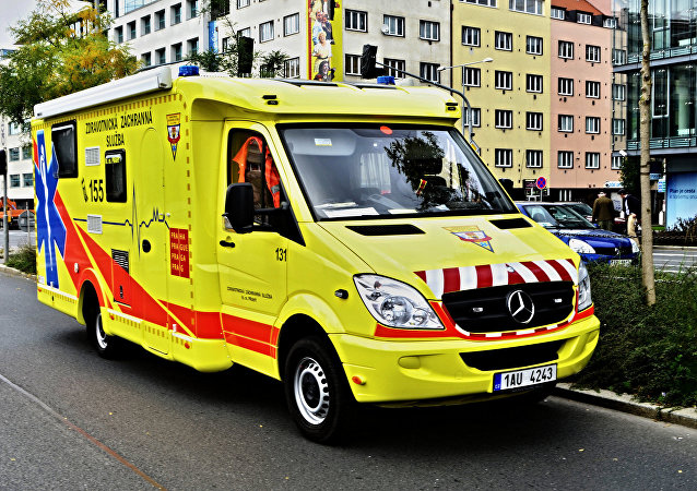 Ambulanza in Republica Ceca