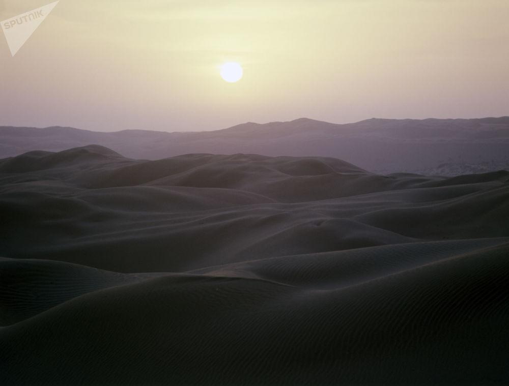 Dune nella penisola di Barsakelmes