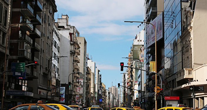 Historical District of Buenos Aires, Argentina.