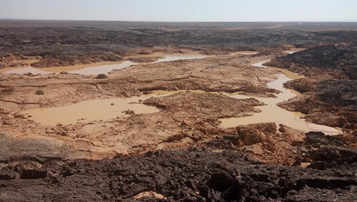 L'acqua potabile nel deserto di As-Suwayda