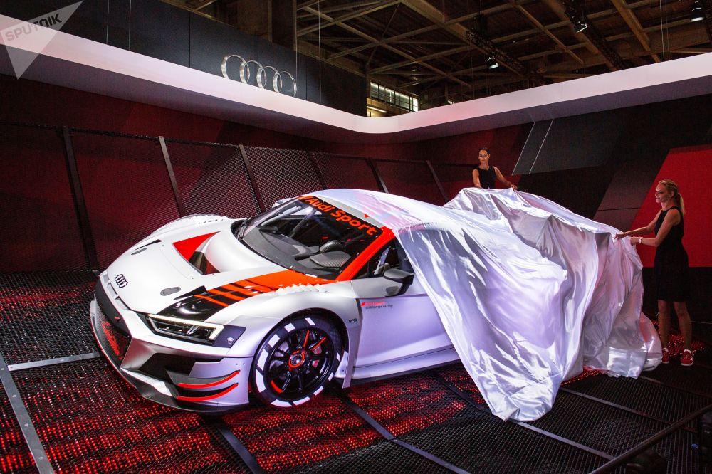 La presentazione della nuova Audi Sport, Parigi.