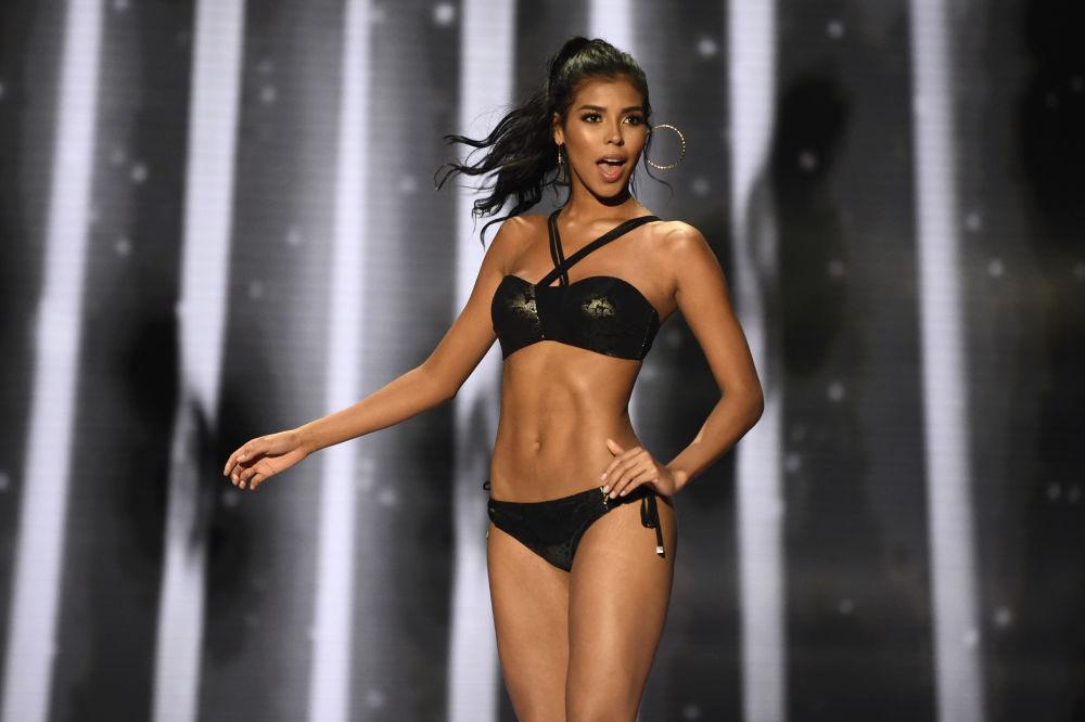 La partecipante del concorso di bellezza Miss Colombia 2018 Miriam Carranza