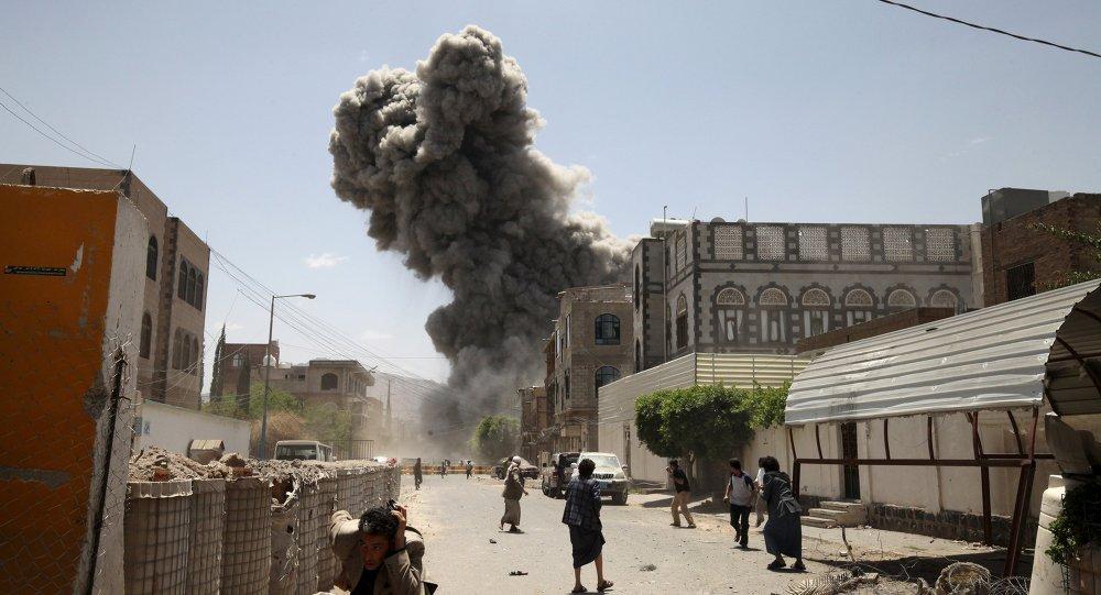 Bombardamenti in Yemen